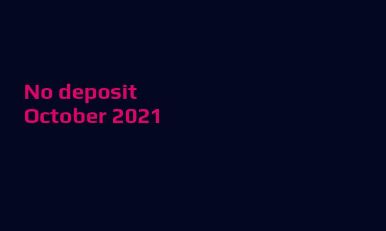 Latest no deposit bonus from Avantgarde- 19th of October 2021