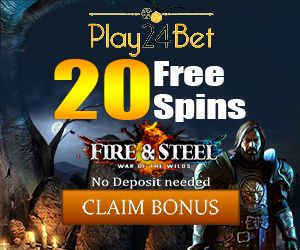Latest bonus from Play24Bet